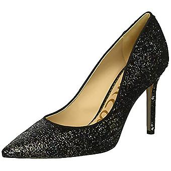 Sam Edelman Women's Hazel Pump, Black/Multi Iridescent Sequins, 9 M US