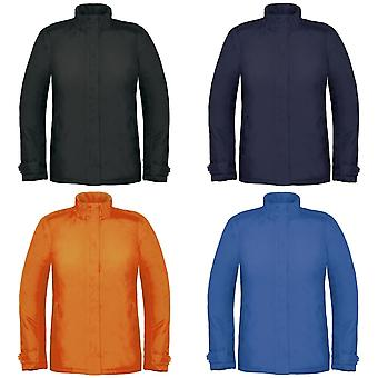 B&C Womens/Ladies Premium Real+ Windproof Waterproof Thermo-Isolated Jacket