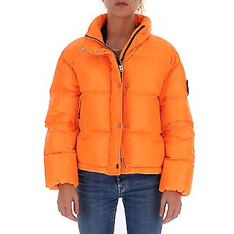 After Label Al033s300 Women's Orange Polyester Down Jacket