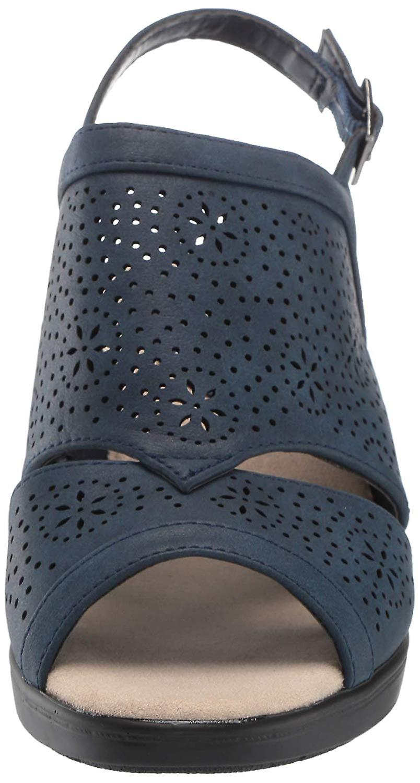 Easy Street Women's Linda Slingback Dress Casual Sandal with Cutouts Heeled nlGDR
