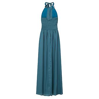 Little Mistress Womens/Ladies Petrol Keyhole Maxi Dress