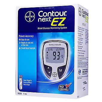 Bayer contour next ez blood glucose monitoring system, 1 ea