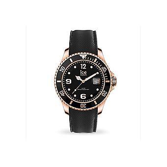 Ice Watch armbåndsur Unisex ICE stål Sort Rose-Gold Medium 016765