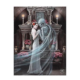 Anne Stokes Forever Yours Canvas Plaque