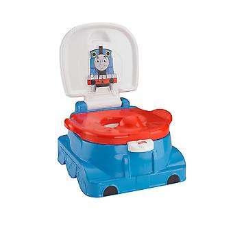 Fisher-Price Thomas Railroad Rewards Potty, Kids Toilet Training seat, Ring and Step Stool With Sounds, Songs and Phrases