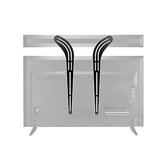 Universal Soundbar Bracket, korkealaatuinen teräsrakenne televisiolle jopa 139,7 cm koot monoprice