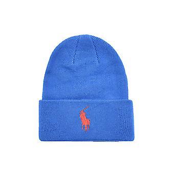 Ralph Lauren Ezcr012029 Men's Blue Wool Hat