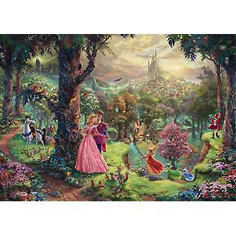 Schmidt Kinkade: Disney Sleeping Beauty Jigsaw Puzzle (1000 pieces)