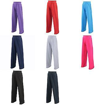 Awdis Childrens Unisex Jogpants / Jogging Bottoms / Schoolwear (Pack of 2)