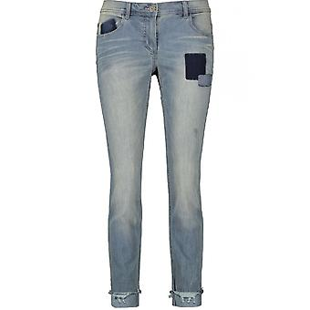 Taifun Patch Deatiled Jeans