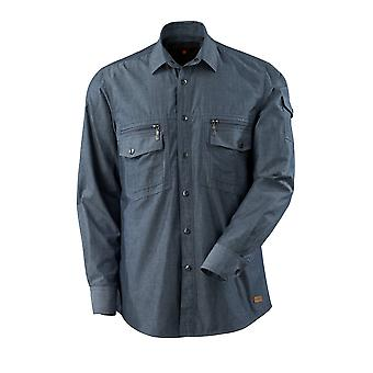 Mascotte norwood chambray shirt denim-look 17304-325 - crossover, mens
