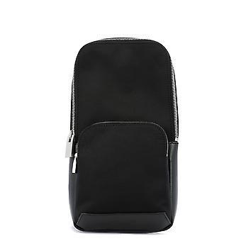 1017 Alyx 9sm Aauba0005fa01blk0001 Men-apos;s Black Nylon Messenger Bag