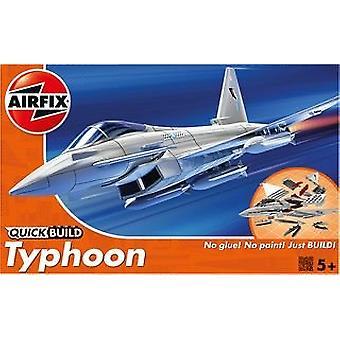 Airfix J6002 γρήγορη κατασκευή typhoon αεροσκάφη μοντέλο kit