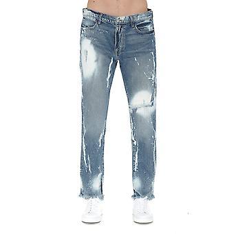 424 424mss20006 Men's Light Blue Cotton Jeans
