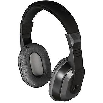 Thomson HED4407 TV Over-ear headphones Over-the-ear Volume control Black