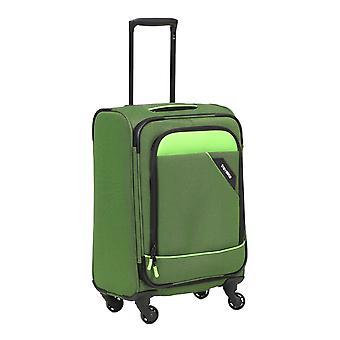 Travelite Derby Bagages à main Trolley S, 4 rouleaux, 55 cm, 41 L, vert