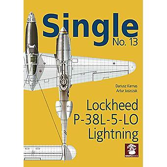 Single 13 - Lockheed P-38l-5-Lo Lightning by Dariusz Karnas - 97883659