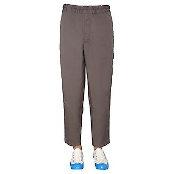 Comme Des Garçons Shirt S281781 Men's Brown Cotton Pants