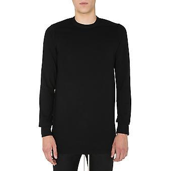 Rick Owens Ru20f3266ja09 Men's Black Cotton Sweater