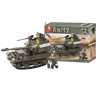 Sluban Army, Kit in 178 Parts - Tank