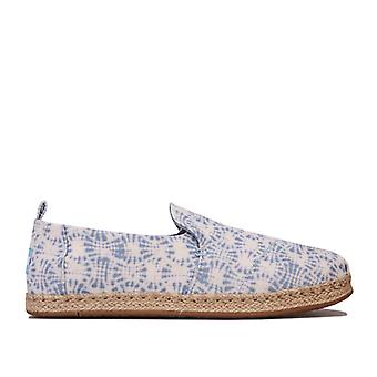 Women's Toms Deconstructed Rope Espadrille Pumps in White