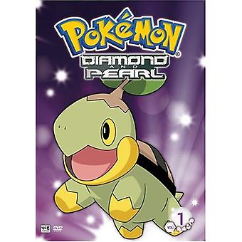 Pokemon - Pokemon: Vol. 1-Diamond & perle [DVD] USA import