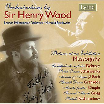 K.R. Wood - Orchestrations by Sir Henry Wood [CD] USA import