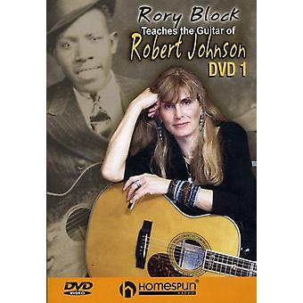 Rory Block - Rory Block: Vol. 1-Teaches the Guitar of Robert Johnson [DVD] USA import