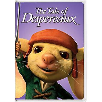 História de Despereaux [DVD] EUA importar