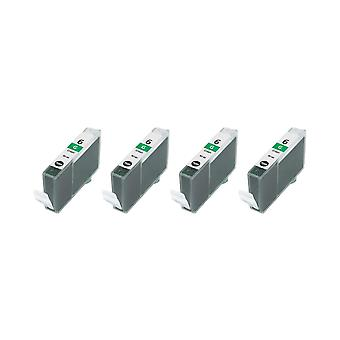 """روديتوس 4 × الاستبدال لكانون بي سي أي-6 ز """"الحبر وحدة الأخضر متوافقة"""" مع Jet الفقاعة i9900، i9950، Pixma iP8500"""