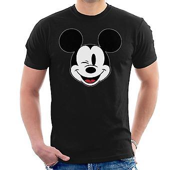 Disney Mickey Mouse winking män ' s T-shirt
