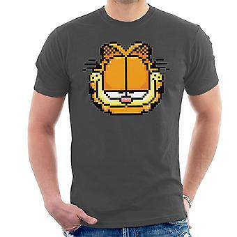 Garfield kornete selvtilfreds blikk mannskap ' s T-skjorte