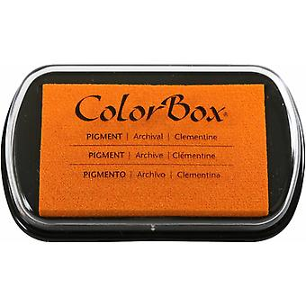 Clearsnap ColorBox Pigment Ink Full Size Clementine