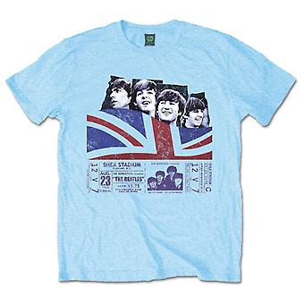 The Beatles Shea Stadium Offisiell t-skjorte Menns Unisex