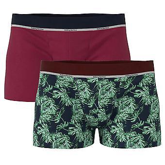 Boxer ondergoed Bamboe Groen / Bourgondië