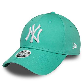 New Era 9Forty Naisten Lippis - New York Yankees aqua