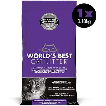 World's Best Cat Litter - Lavender - 3.18kg
