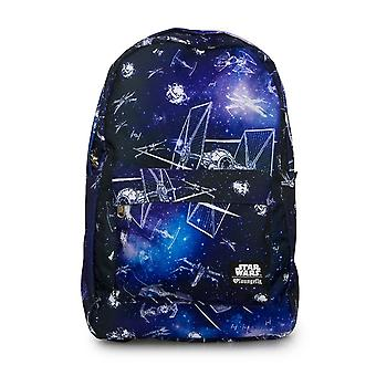 Loungefly X Star Wars Ship And Galaxy Backpack - Star Wars .