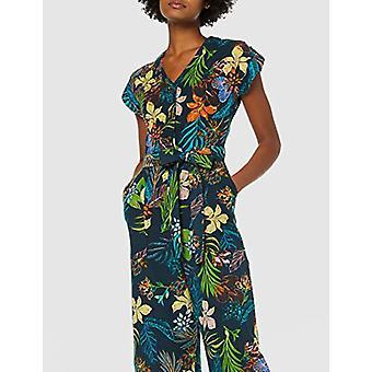 find. Women's MTR 41106, Multicolor (Tropical Print), L (US 10)