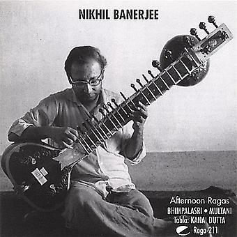 Nikhil Banerjee - Afternoon Ragas [CD] USA import