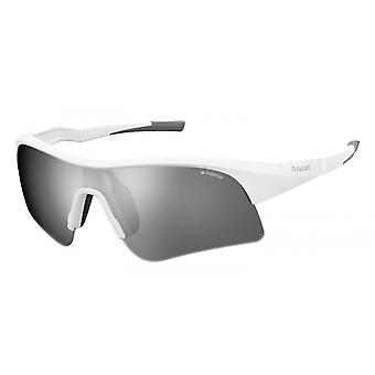 Sunglasses Unisex 7024/SVK6/EX sporty white/grey
