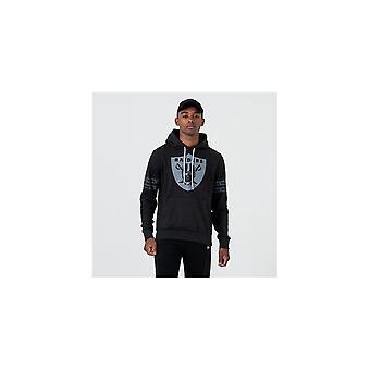 New Era Nfl Oakland Raiders Tonal Black Pullover Hood