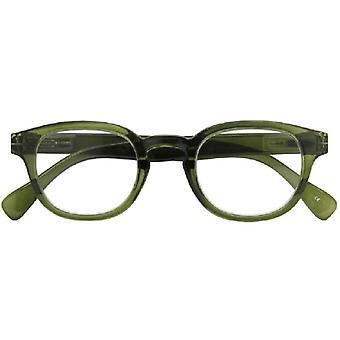 Lesebrille Unisex  Montel   dunkelgrün Stärke +1,00
