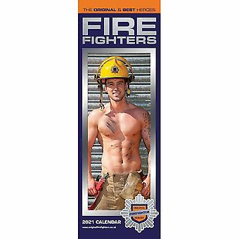 Otter House 2021 Slim Calendar-fire Fighters