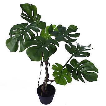 70cm künstliche Twisted Stem Monstera Pflanze