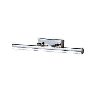 Luminosa Beleuchtung - Badezimmer Wandleuchte Medium Einstellbar, 1 x 12W LED, 4000K, 1192lm, IP44, poliert Chrom