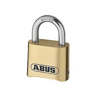 ABUS 180IB/50 50mm messinki runko yhdistelmä riippulukko (4-numeroinen) karstattu ABU180IB50C