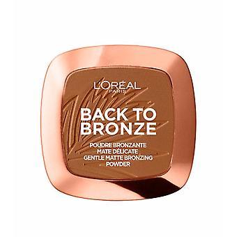 L'oreal Paris Back To Bronze - Gentle Matte Bronzing Powder - Shade: 02 Sunkiss