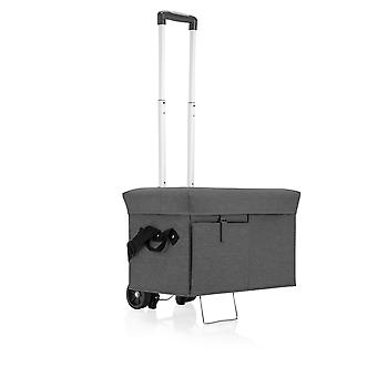 Ottoman Portable Cooler With Trolley, (Gray)