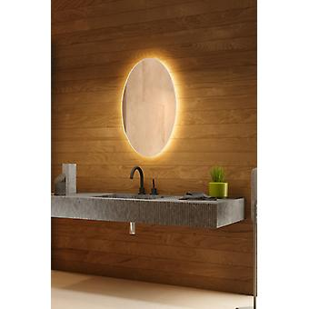 RGB k756 Audio Backlit Mirror with Sensor, Demister and Shaver socket